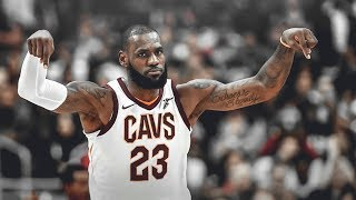 The King Lebron James * He Is An Animal * 2017 - 2018 * Cleveland Cavaliers