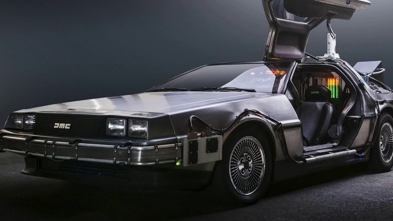 Delorean Time Machine Fan Made Time Travel Sound Youtube