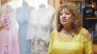 видео Индивидуальный пошив свадебного платья