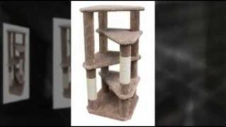 "11 Cat Tree Plans With A 24"" X 24"" Base Only $9.95"
