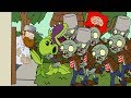 Plants vs zombies 2 ANIMATION Zombie Invasion (Cartoon)/Invasion zombi Music Video