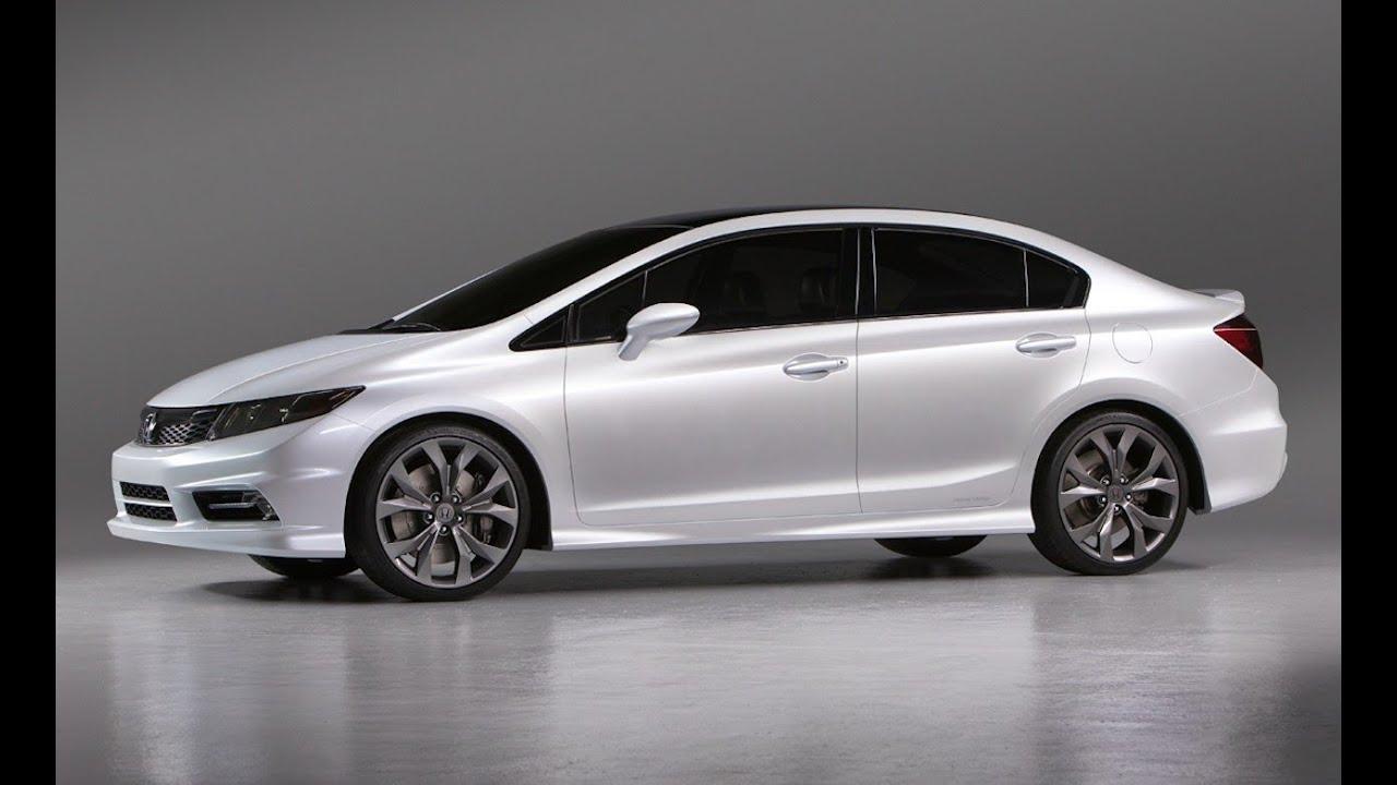2013 honda civic si sedan tafetta white youtube for Honda civic si white