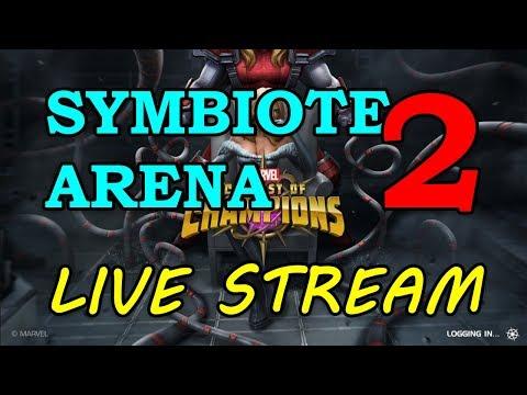 Symbiote Supreme Arena - Round 2 - Part 2   Marvel Contest of Champions Live Stream