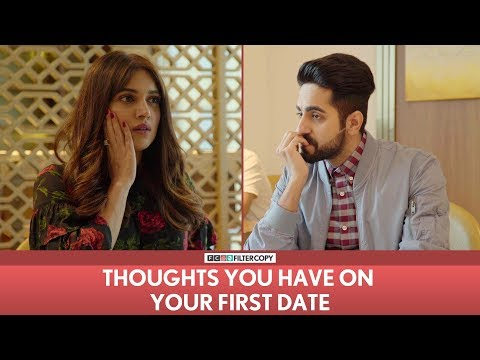 Thumbnail: FilterCopy | Thoughts You Have On Your First Date | Ft. Ayushmann Khurrana and Bhumi Pednekar