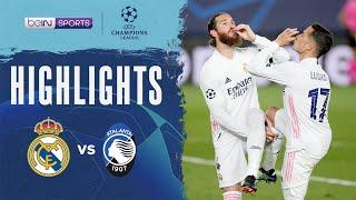 Real Madrid 3-1 Atalanta   Champions League 20/21 Match Highlights