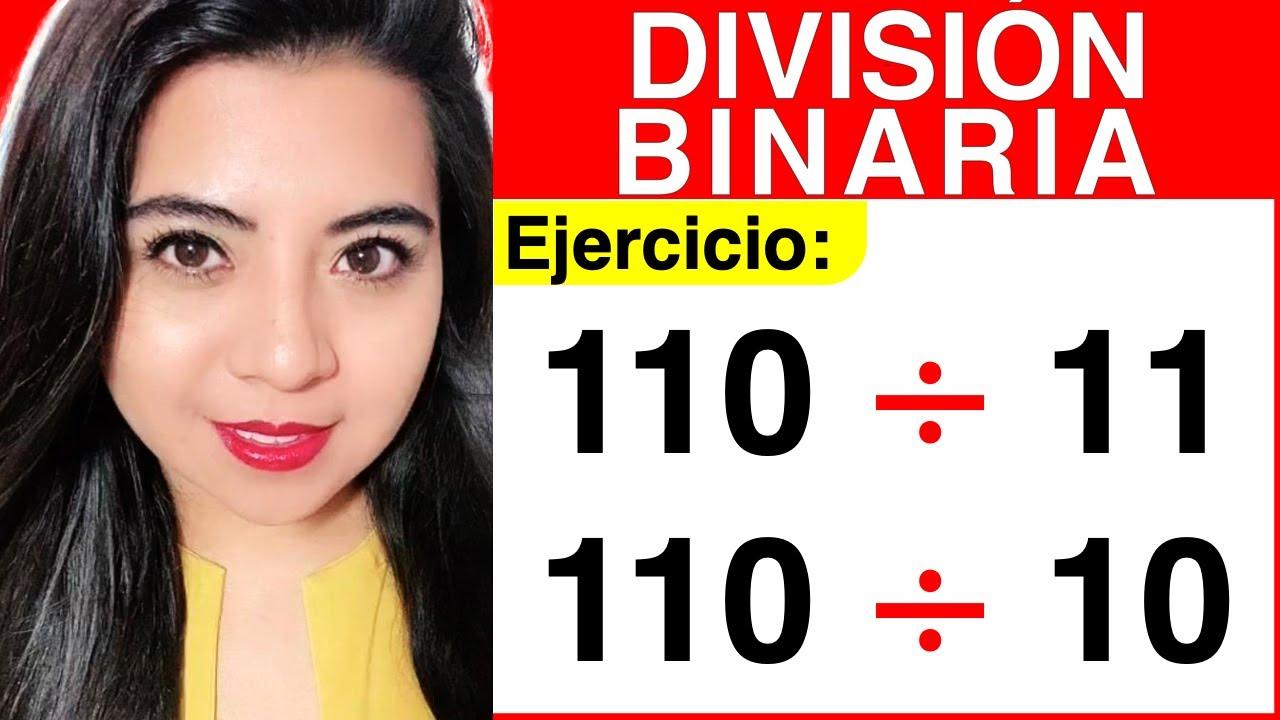 Division de numeros binarios online dating