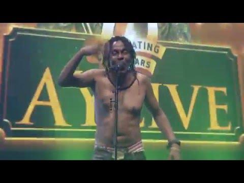 Majek Fashek performs shirtless at AY Live 2016 (Happy Ever Laughter Edition)