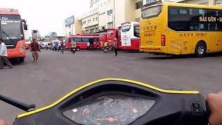 Cuộc Sống Sài Gòn - Bến Xe Miền Đông Về Chiều - Camera Hành Trình Sài Gòn thumbnail