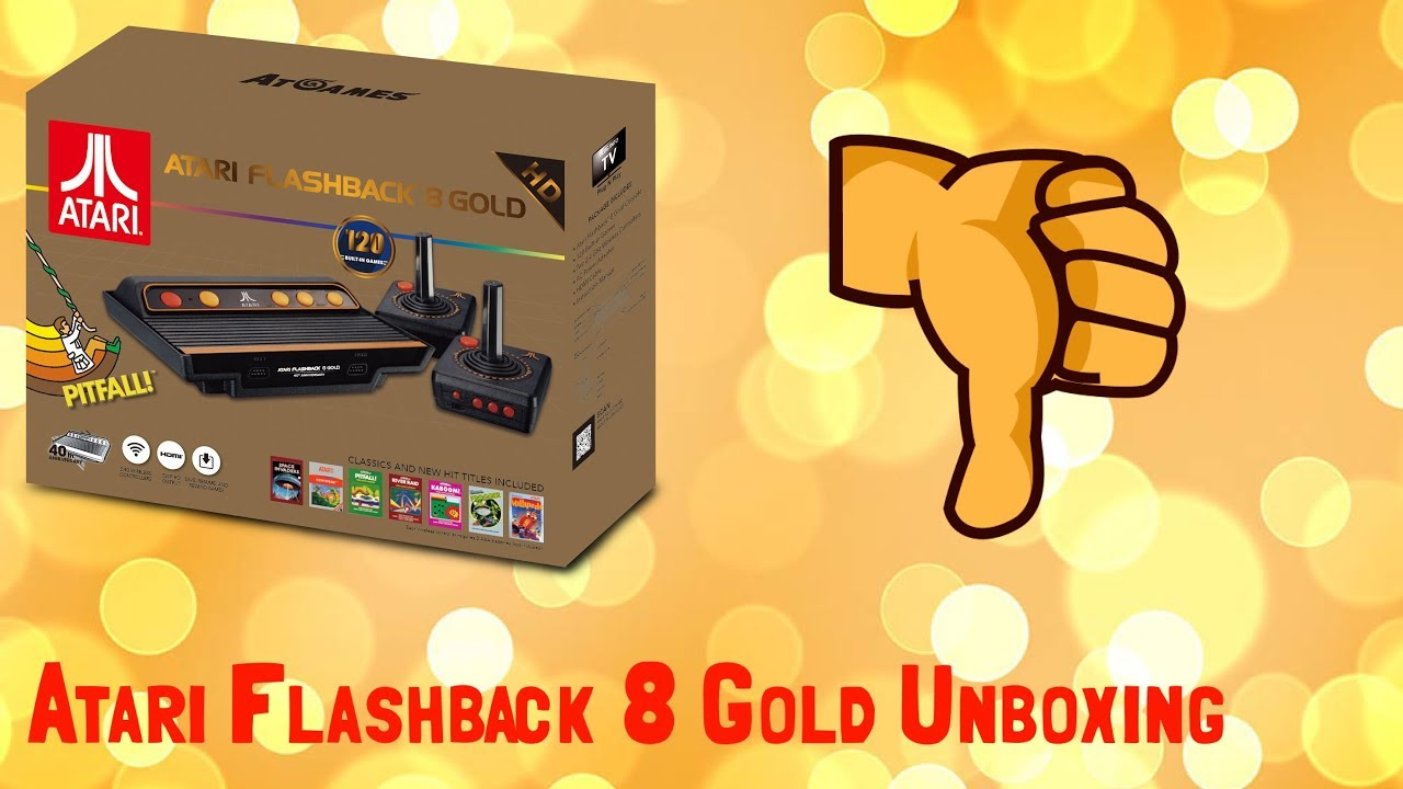 Atari Flashback 8 Gold Is A Ripoff 70 Turd Unboxing