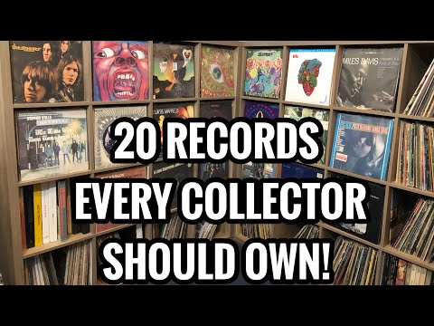 20 Records Every Collector Should Own - Intermediate Recommendations for Rock, Funk, Jazz, Blues...