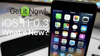 iOS 11.0.3 is Out! - What's New?