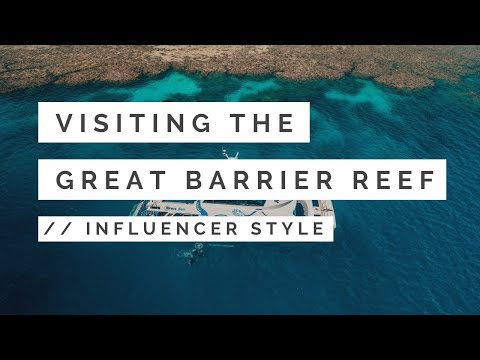 Experience AquaQuest INFLUENCER Style // Great Barrier Reef Daytrip