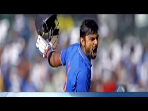 Virat Kohli Scores Unbeaten 82 Runs in India vs Australia, T20 World Cup 2016