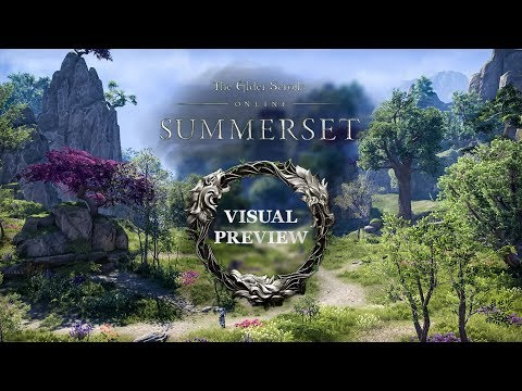 ESO Summerset - Visual Preview - Landscape/Cities/Dungeons/etc