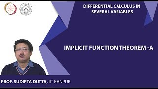 Implicit Function Theorem a