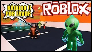 I FOUND ALIEN LIVE NO JAILBREAK!! HISTORINHA NO ROBLOX!!