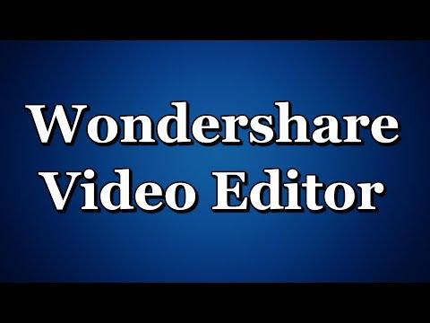 Wondershare Video Editor как замедлить или увеличить ...