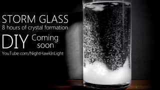 Storm Glass Time Lapse