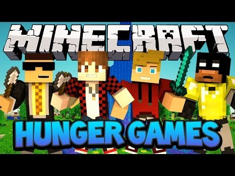 Minecraft Nexus Hunger Games - How to Camp w/Mitch, Ryan and Bodil