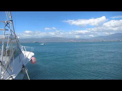 Boston Whaler in Kingston Harbour, Jamaica
