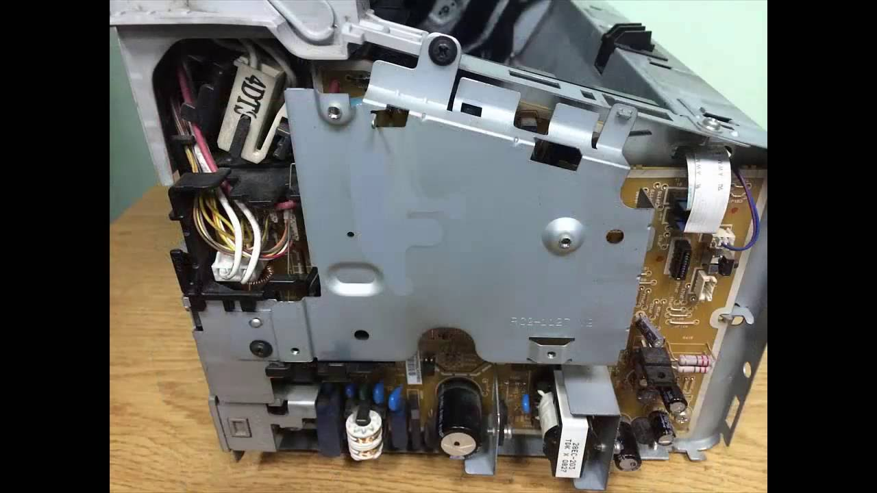 How To Replace Formatter Assembly Of Hp Laserjet P1005