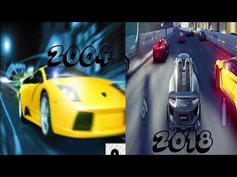 Asphalt Evolution 2004-2018 (inspired By Andrew Luiz)