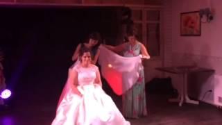 Снятие фаты невесты