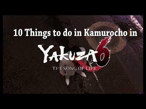 10 Things to Do in Kamurocho - Yakuza 6 gameplay