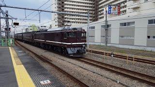 EF64形電気機関車1052号機「飯山線開通90周年号送込み回送列車(回9431)」高尾駅通過 '19.10.03