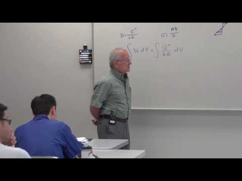 Stress Analysis: Castigliano's Theorem & Examples (6 of 17)