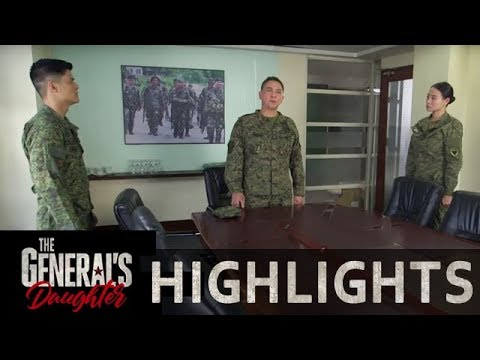 Gen. Maximillano assigns Alex to spearhead the hunting down Rhian mission | The General's Daughter
