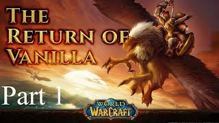 Classic World of Warcraft Lights Hope || Human Paladin (#1)