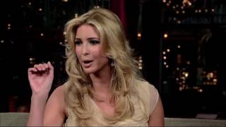 Ivanka Trump on the Late Show with David Letterman 2007