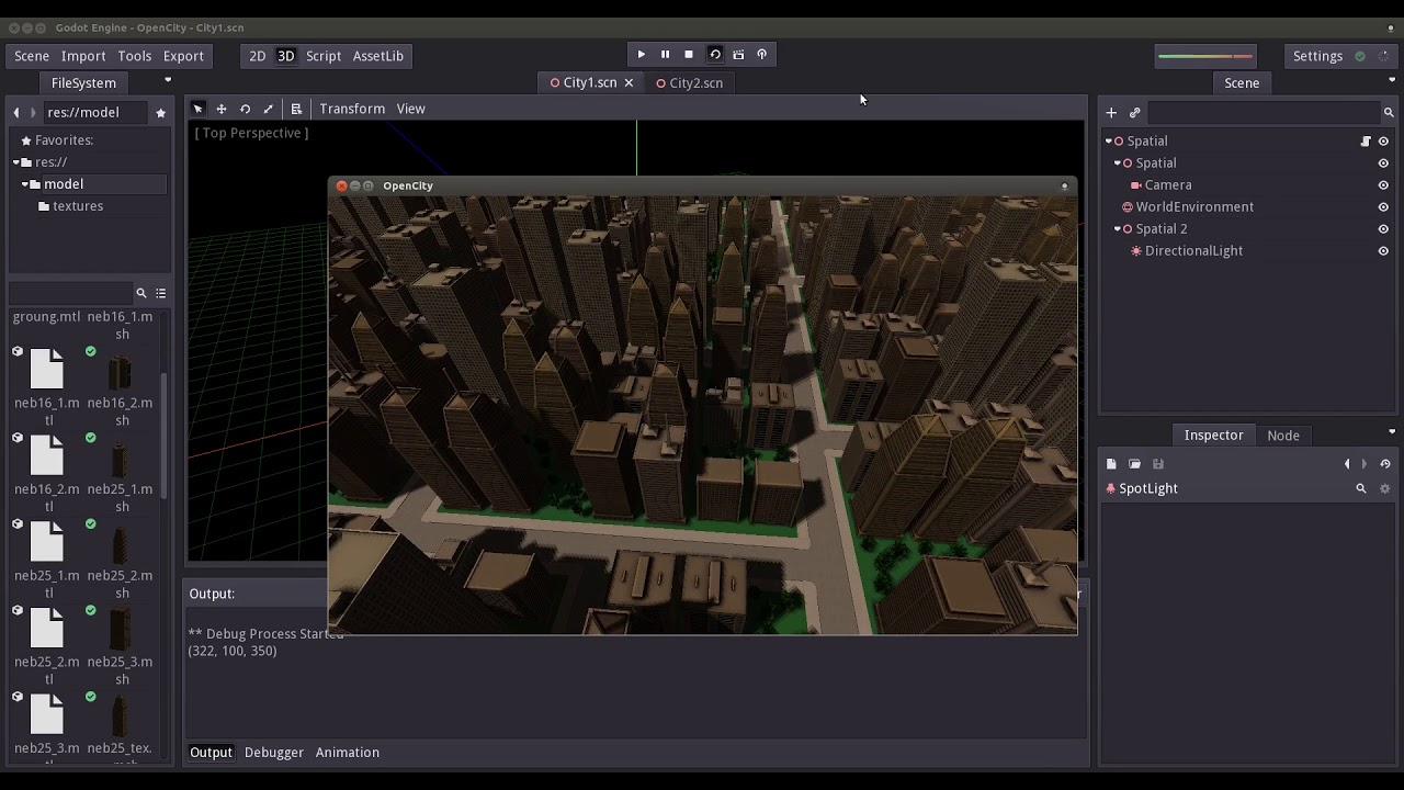Godot Engine 3 0: Procedural City Generator (City Planning