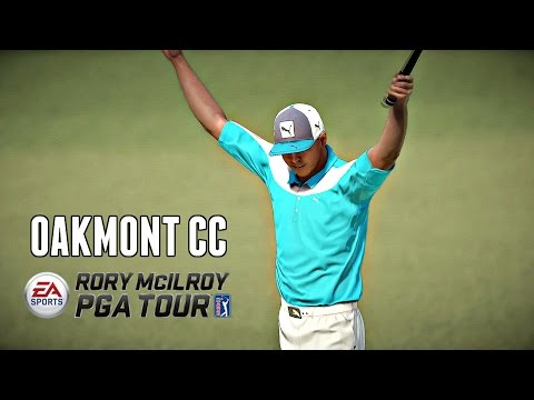 Rory McIlroy PGA Tour - OAKMONT CC COURSE UPDATE! (Xbox One Gameplay HD)