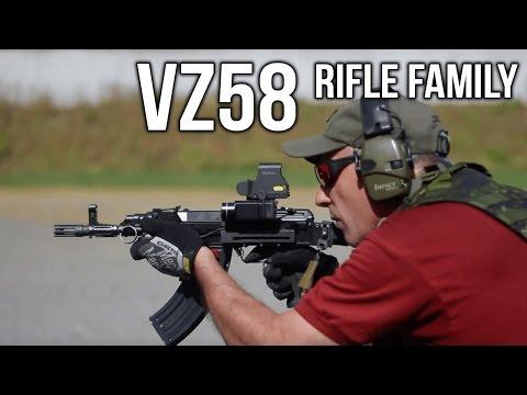 CZ Vz58 Rifle Family: History and Modernization