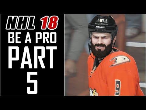 """NHL 18 - Be A Pro Career - Let's Play - Part 5 - """"Proving We Belong (Pre-Season Week 1)"""""""