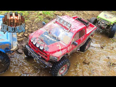 RC ADVENTURES - BRUTAL TANK TRAP - RUDE BOYZ RC TTC 2017 (PT 6) SCALE TOUGH TRUCK CHALLENGE