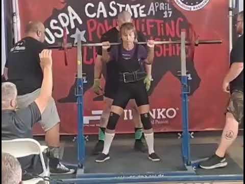 Allison Ross - 165lb Squat