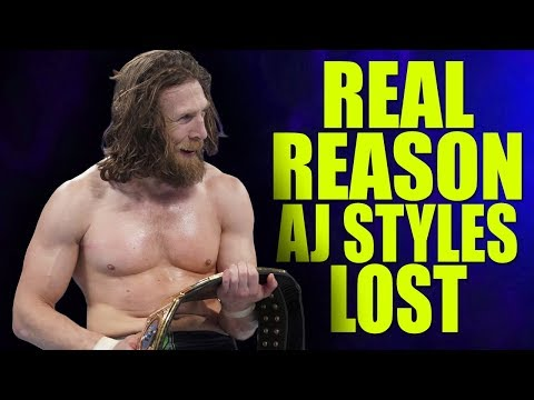 Real Reasons Why AJ Styles Lost The WWE Championship!