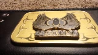 ProAm Belts custom championship belts stacked