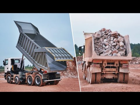 KH-KIPPER│Scania 8x4 W1M tipping body for mining transport