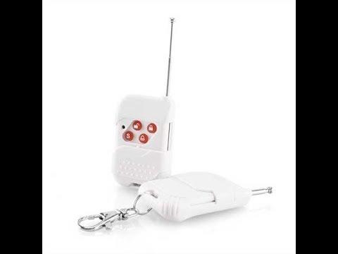 telecommande alarme maison 4 boutons