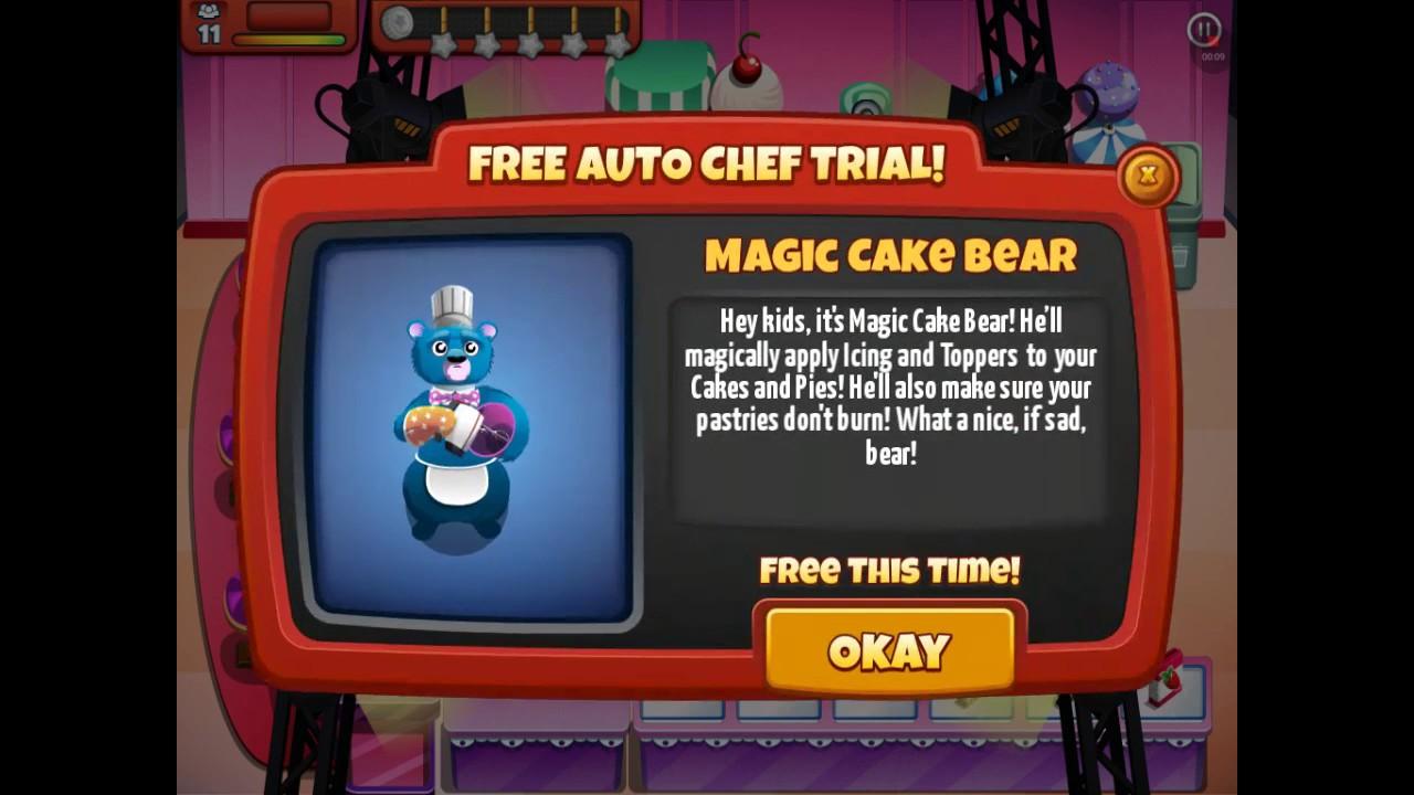 Magic Cake Bear Cooking dash season 1 episode 8 YouTube