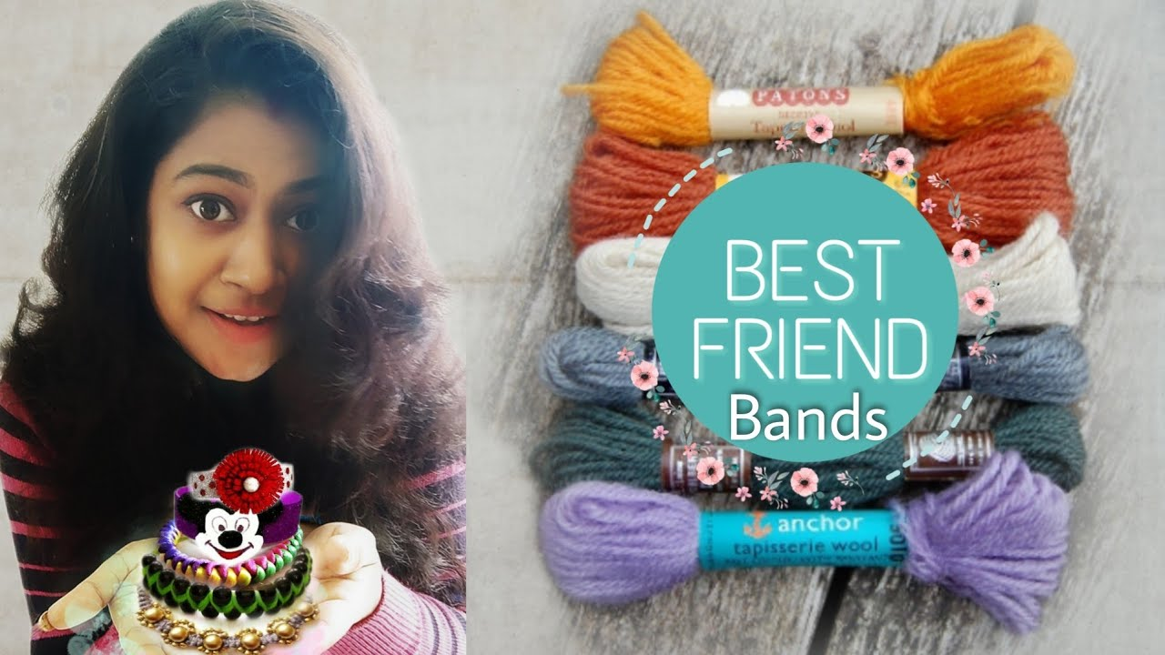 6 Easy Friendship Bands For Beginners | Friendship bracelets |Friendship day gift ideas | gift ideas