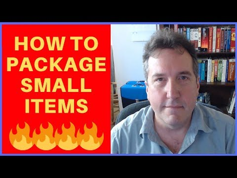 Packaging Small Items for Amazon FBA