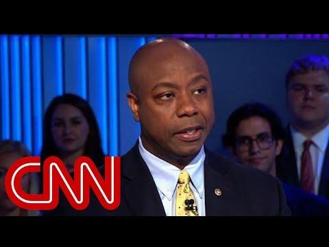 Senator: Race talks with Trump 'uncomfortable'