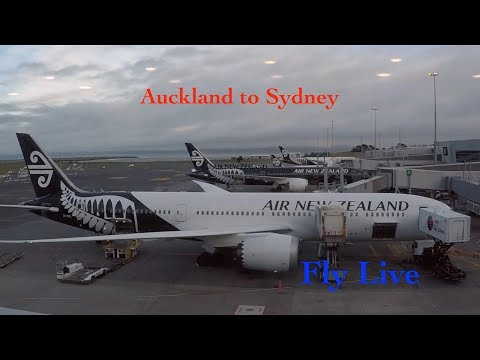 Air New Zealand NZ103 Auckland To SydneyFlight Report (Boeing 787-9) Natural Sound
