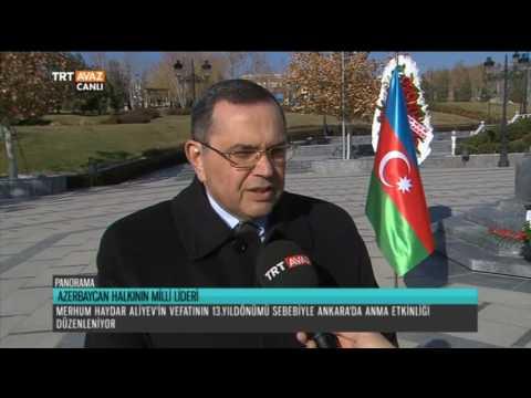 Azerbaycan Lideri Haydar Aliyev'i...