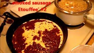 Smoked Sausage Etouffee / Easy Arkansas Style Recipe With Chicken (2)